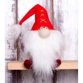 """Набор для изготовления игрушки из фетра """"Гномики. Красный гном"""", Перловка, арт. ПФГ-1551"""