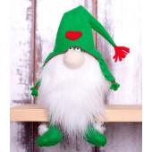 """Набор для изготовления игрушки из фетра """"Гномики. Зелёный гном"""", Перловка, арт. ПФГ-1552"""