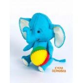 """Набор для изготовления игрушки из фетра """"Детки. Слоник"""", Перловка, арт. ПФД-1055"""