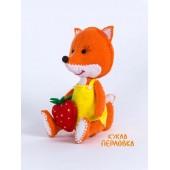 """Набор для изготовления игрушки из фетра """"Детки. Лисичка"""", Перловка, арт. ПФД-1056"""
