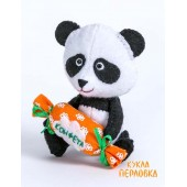 """Набор для изготовления игрушки из фетра """"Детки. Панда"""", Перловка, арт. ПФД-1057"""