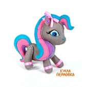 """Набор для изготовления игрушки из фетра """"Детки. Пони"""", Перловка, арт. ПФД-1062"""
