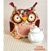 """Набор для изготовления игрушки """"Грелки на чайник. Сова-Грелка"""", Перловка, арт. ПГЧ-1102"""
