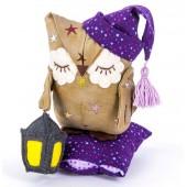 """Набор для изготовления игрушки """"Сказки на ночь. Совёнок Дрёма"""", Перловка, арт. ПСН-904"""