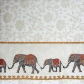 """Салфетка для декупажа """"Индийские слоники"""" бумажная IHR500390, 33х33 см"""