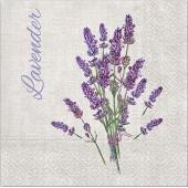 """Салфетка для декупажа """"Lavender"""" бумажная SDL120103, 33х33 см"""