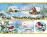 Новогодняя рисовая бумага