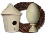 Заготовки к Пасхе, яйца деревянные для декупажа