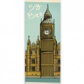 "Бумага рисовая для декупажа Stamperia DFS212L ""Биг-Бен, Лондон"", 24х60 см"