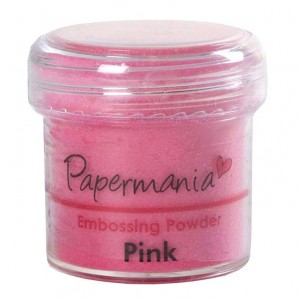 Пудра для эмбоссинга PMA4021001 розовая PAPERMANIA, 28,3 гр.