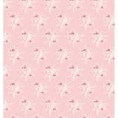 """Ткань Тильда """"Птички розовый"""", 50х55 см, 100% хлопок, арт. 480679, Tilda"""