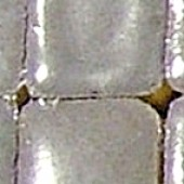 Мозаика керамическая Rayher Mini 558 серая непрозрачная, 5х5х3 мм, арт. 14495558, около 110 шт.