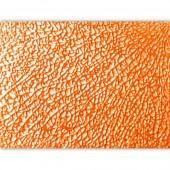 Мозаика стеклянная Glorex-Crackle в листах прозрачная 002 оранжевая, 15х20 см, арт. 6246002