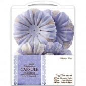 "Декоративные элементы ""Крупные цветы"" French Lavender, 32 шт., PMA368113, DOCRAFTS"