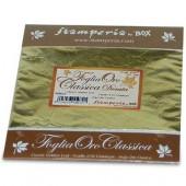 Поталь - фольга для золочения KER01F Золотая, Stamperia, 14х14 см, 11 листов