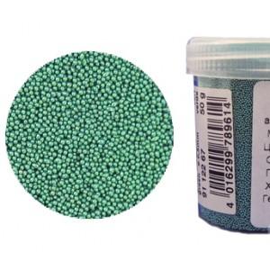 Микробисер металлик EFCO 9112267 стеклянный, цвет зелёный, 0,5 мм, 50 гр.