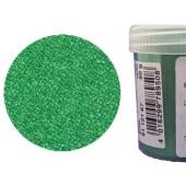 Микробисер прозрачный EFCO 9112167 стеклянный, зелёный, 0,5 мм, 50 гр.