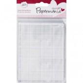Блок акриловый для штампов PAPERMANIA, PMA9031001, 10,2х13,3 см