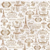 "Рисовая салфетка Stamperia для декупажа DFT206 ""Тур в Париж"", 50х50 см"