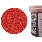 Микробисер прозрачный EFCO 9112114 стеклянный, оранжевый, 0,5 мм, 50 гр.