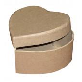 """Коробка """"Сердце"""" картонная заготовка, 13х13х6,5 см, Stamperia, KC15/2S-1"""