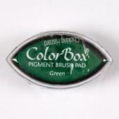 """Штемпельная подушечка """"Кошачий глаз"""" для штампов, цвет: зелёный, 5х3 см, CSP11021, DOCRAFTS"""