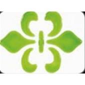 Гель с эффектом стекла Glas-Effekt Gel от Viva Decor, цвет: 700 Зеленый, 25 мл