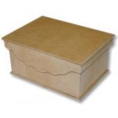 Шкатулка со съёмной фигурной крышкой, 19,9х14,9х9 см, МДФ, KF183, Stamperia
