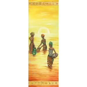 """Бумага рисовая для декупажа Stamperia DFS195L """"Африканские женщины 2"""", 24х60 см"""