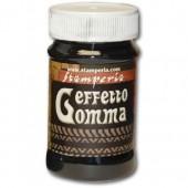 "Паста с эффектом резины ""Effetto Gomma"", чёрная, 100 мл, K3P34A, Stamperia"