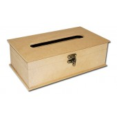 Шкатулка для салфеток - заготовка для декупажа из МДФ, 26,8x15,5x8,8 см, KF97, Stamperia
