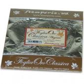 Поталь - фольга для золочения KER02F Серебряная, 14х14 см, 11 листов, Stamperia