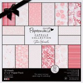 "Набор бумаги для скрапбукинга ""Parkstone Pink"" PMA160311, DOCRAFTS, 20,3х20,3 см, 32 листа"