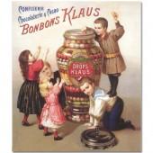 Открытка для создания объёмных композиций Конфеты Клауса, Stamperia, DF3D033B, 23х30 см