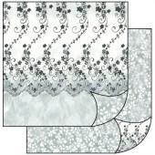 Бумага для скрапбукинга двухсторонняя Stamperia, 31,2х30,3 см, SBB137, Кружево