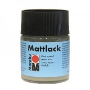 Лак на основе синтетических смол Marabu-Mattlack матовый, 50 мл