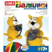 """Набор для изготовления войлочной игрушки """"Котик с мышкой"""", арт. ФГ-001, LORI"""