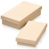 Коробка прямоугольная - заготовки из картона, арт. 8735773, Knorr Prandell, 2 шт., 16х9х4 см и 14,5х7,5х3 см