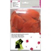 Шерсть супертонкая мериносовая для фелтинга, цвет оранжевый, 50 г, арт. 1008516, EFCO