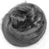 Чесуча (дикий шёлк) для валяния, цвет чёрный, 10 г, арт. 2507580, Knorr prandell