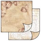 Бумага для скрапбукинга двухсторонняя Stamperia, 31,2х30,3 см, SBB067
