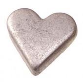 Заклепки-люверсы СЕРДЦА, 10х8 мм, 25 шт., металл, цвет: античное серебро, арт. 6258727, Knorr prandell