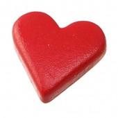 """Заклепки-люверсы """"СЕРДЦА"""", 10х8 мм, 25 шт., металл, цвет: красный, арт. 6258158, Knorr prandell"""