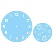 Трафарет для часов - набор 2 шт., d= 28 и 18 см, арт. 38-653-000, Rayher