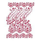 "Трафарет Stamperia KSG213 ""Цветочное кружево"", 21х29,7 см"