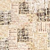 "Рисовая салфетка Stamperia для декупажа DFT179 ""Ноты"", 50х50 см, 15 г/м2"