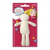 Набор для изготовления мягкой текстильной куклы FLSB01, высота 12 см, Stamperia