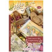 """Журнал """"Hobby Book"""" №40, Много новых идей для скрапбукинга. Stamperia"""