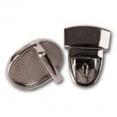 Застёжка для сумок FLSAC05, 1 шт., 4х3 см, металл, Stamperia