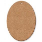 Заготовка Табличка овальная KF233A из МДФ, Stamperia, 6х4,3 см